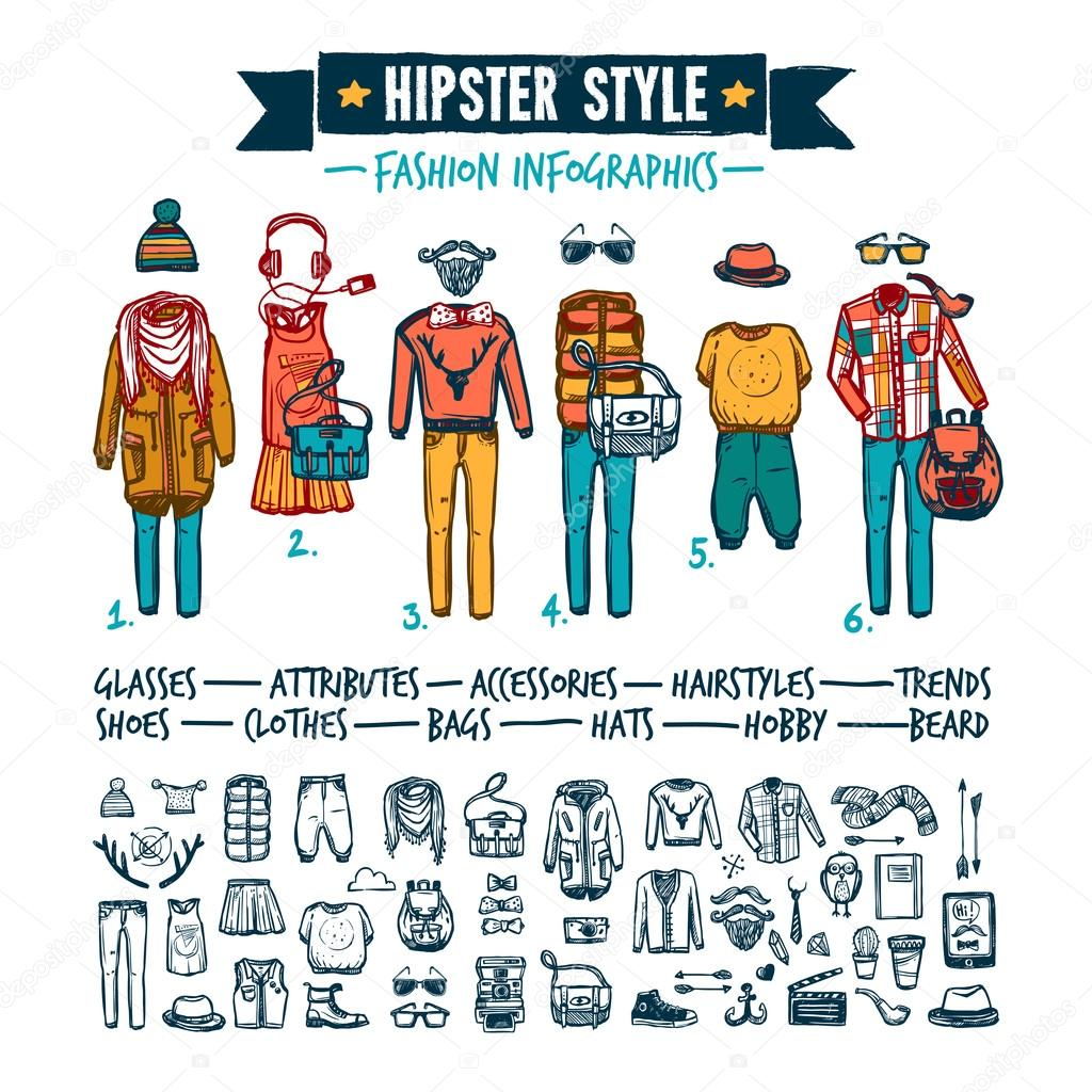 Infographic clothing