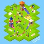 Постер, плакат: Playground Park Poster
