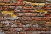 Vecchio muro in mttoni a Venezia 2 — Stock Photo