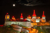 Night lighting castle — Stock Photo