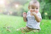 Bebé asiático — Foto de Stock