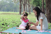 Asian family — Stockfoto