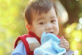 Asian baby — Stock Photo