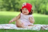 маленькая азиатская девочка — Стоковое фото