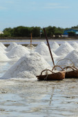 Salt farm — Stock Photo
