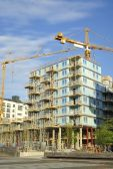 High rise construction — Photo