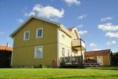 Swedish housing — Stock Photo