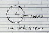 Le temps est maintenant — Photo