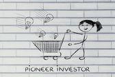 Investor capitalist — Stock Photo