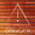 Danger road sign design — Stock Photo #53938473