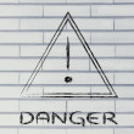 Danger road sign design — Stock Photo #53938543