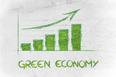 The rise of green economy — Stock Photo