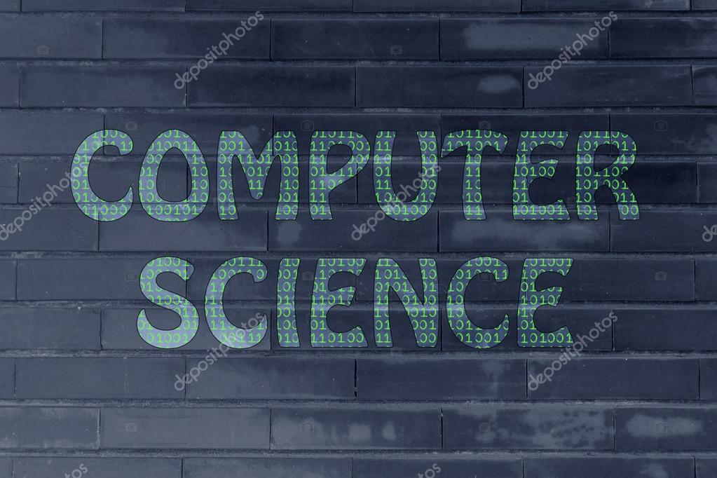 Computer Science Patterns The Word Computer Science Made