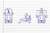 Fitness lifestyle — Stock Photo