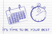 время и управления проектами для глобального бизнеса — Стоковое фото