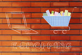 Concept of e-commerce and online shopping — Foto Stock