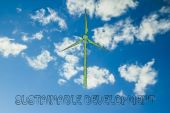 Alternative energy illustration — Stock Photo