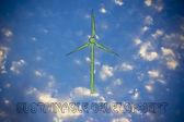 Alternative energy illustration — Stock Photo