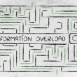 Search bar surrounded by a maze — Stock Photo #70380107