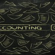 Researching about accounting — Stock Photo #70557309