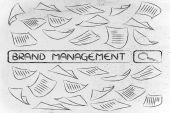 Marka yönetimi hakkında araştırma — Stok fotoğraf