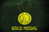Symbol of sport achievements and metaphor of success — Stockfoto