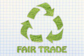 Fair trade illustration — Stock Photo