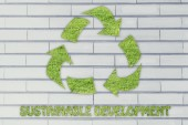Sustainable development illustration — Stock Photo