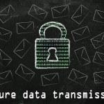 Internet secure data transmission — Stock Photo #73685753