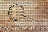 Concept of machine learning — Stock Photo