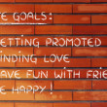 List of life goals — Stock Photo #77790986