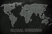 Concept of global business — Stock Photo