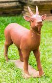 Goat statue — Stock Photo