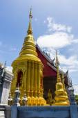 Pagoda With chapel in Thailand — Foto Stock