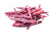 Peppers drying Isolated — Stockfoto