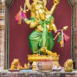 Golden statue of Ganesha — Stock Photo #55290975