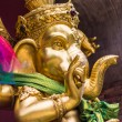 Golden statue of Ganesha — Stock Photo #55513233