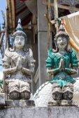 Old Thai angel statue — Stok fotoğraf