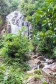 Mae Tia waterfall, Ob Lung national park in Chiangmai Thailand — Stock Photo