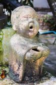 粘土モンク幸せな彫像、タイ風 — ストック写真