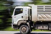 Truck Panning camera — Stock Photo