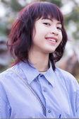 Beautiful thai girl portrait — Stock Photo