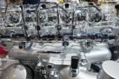 Motore auto — Foto Stock