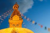 Swayambhunath Monastery — Foto de Stock