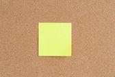 Sticky note — Stock Photo