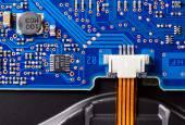 Elektronik devre kartı — Stok fotoğraf