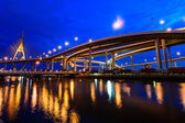 Industrial Ring Road Bridge — Stock Photo