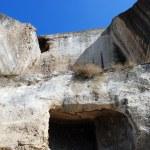 Ancient quarry Saint-Klimetskogo priory — Stock Photo #55696615