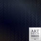 Art Deco seamless vintage wallpaper pattern — Stock Vector