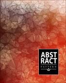 Uppsättning av abstrakt månghörnigt bakgrund — Stockvektor